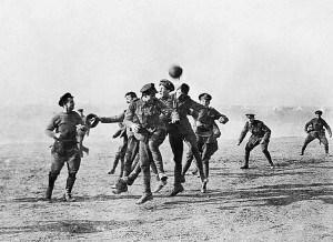 Meciuri de fotbal intre taberele opozante ale Primului Razboi Mondial