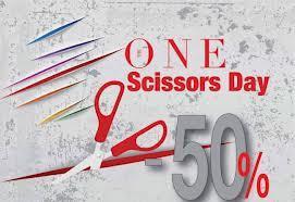 Scissors Day pentru adictii de cumparaturi