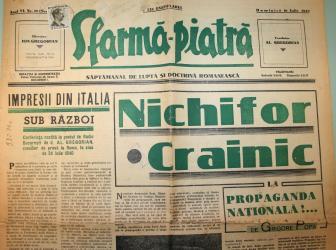 Reportaj - document: Istoria presei legionare romanesti la 1940-1941