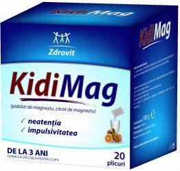 KidiMag - Magneziu de nota 10 pentru sanatatea copiilor